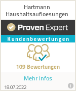 Erfahrungen & Bewertungen zu Hartmann Haushaltsaufloesungen
