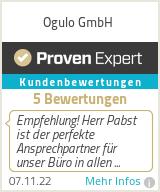Erfahrungen & Bewertungen zu Ogulo GmbH