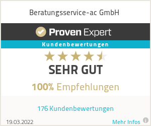 Erfahrungen & Bewertungen zu Beratungsservice-ac GmbH
