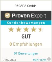 Erfahrungen & Bewertungen zu RECARA GmbH