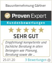 Erfahrungen & Bewertungen zu Bauunternehmung Gärtner