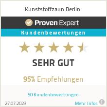 Erfahrungen & Bewertungen zu Kunststoffzaun Berlin