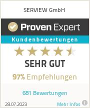 Erfahrungen & Bewertungen zu SERVIEW GmbH