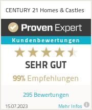 Erfahrungen & Bewertungen zu CENTURY 21 Homes&Castles
