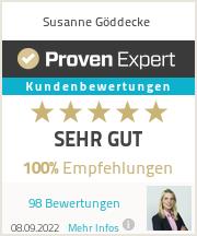 Erfahrungen & Bewertungen zu Susanne Göddecke