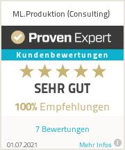 Erfahrungen & Bewertungen zu ML.Produktion (Consulting)