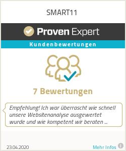 Erfahrungen & Bewertungen zu SMART11