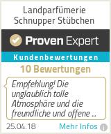 Erfahrungen & Bewertungen zu Landparfümerie Schnupper Stübchen