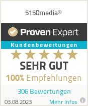 Erfahrungen & Bewertungen zu 5150media®