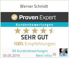 Erfahrungen & Bewertungen zu Werner Schmidt