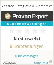 Erfahrungen & Bewertungen zu Antimon Fotografie & Werbetext