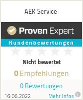Erfahrungen & Bewertungen zu AEK Service