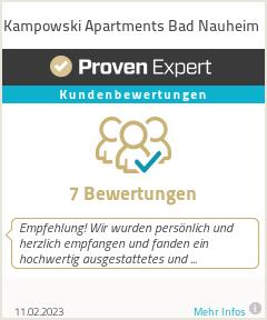 Erfahrungen & Bewertungen zu Kampowski Apartments Bad Nauheim