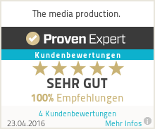 Erfahrungen & Bewertungen zu The media production.