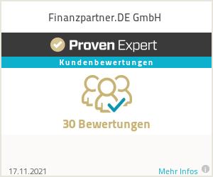 Erfahrungen & Bewertungen zu Finanzpartner.DE GmbH