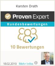 Erfahrungen & Bewertungen zu Karsten Drath