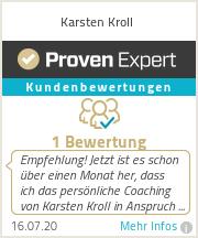 Erfahrungen & Bewertungen zu Karsten Kroll