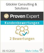 Erfahrungen & Bewertungen zu Glöckler Consulting & Solutions