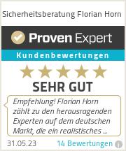 Erfahrungen & Bewertungen zu Sicherheitsberatung Florian Horn
