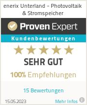 Erfahrungen & Bewertungen zu enerix Unterland - Photovoltaik & Stromspeicher