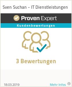 Erfahrungen & Bewertungen zu Sven Suchan - IT Dienstleistungen