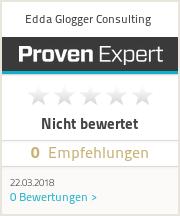 Erfahrungen & Bewertungen zu Edda Glogger Consulting