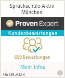 Erfahrungen & Bewertungen zu Sprachschule Aktiv München