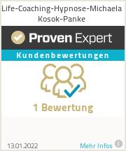 Erfahrungen & Bewertungen zu Life-Coaching-Hypnose-Michaela Kosok-Panke