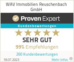 Erfahrungen & Bewertungen zu WAV Immobilien Reuschenbach GmbH