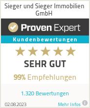 Erfahrungen & Bewertungen zu Sieger und Sieger Immobilien GmbH