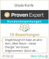 Erfahrungen & Bewertungen zu Ursula Kurrle
