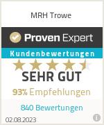 Erfahrungen & Bewertungen zu MRH Trowe