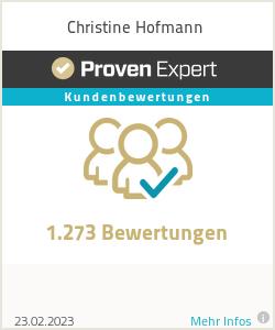 Erfahrungen & Bewertungen zu Christine Hofmann
