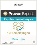 Erfahrungen & Bewertungen zu MYSOX
