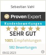 Erfahrungen & Bewertungen zu Sebastian Vahl