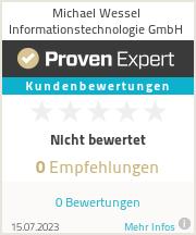 Erfahrungen & Bewertungen zu Michael Wessel Informationstechnologie GmbH
