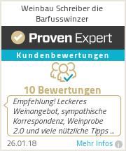 Erfahrungen & Bewertungen zu Weinbau Schreiber die Barfusswinzer