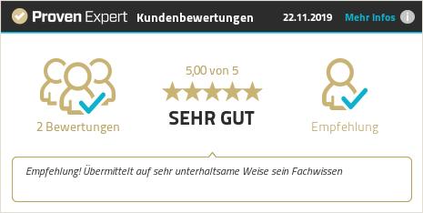 Kundenbewertungen & Erfahrungen zu Kai Schmidhuber. Mehr Infos anzeigen.
