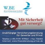 WBE Forchheim Versicherungsmakler Frank Kohrt