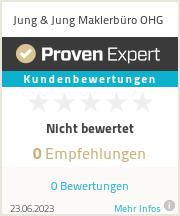 Erfahrungen & Bewertungen zu Jung & Jung Maklerbüro OHG