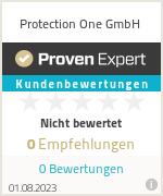 Erfahrungen & Bewertungen zu Protection One GmbH
