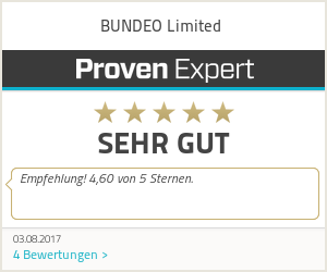 Erfahrungen & Bewertungen zu BUNDEO Limited