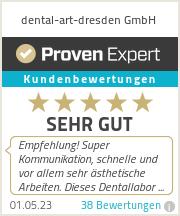 Erfahrungen & Bewertungen zu dental-art-dresden GmbH