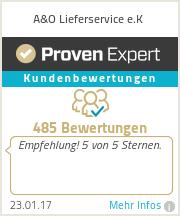 Erfahrungen & Bewertungen zu A&O Lieferservice e.K