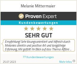 Erfahrungen & Bewertungen zu Melanie Mittermaier