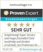 Erfahrungen & Bewertungen zu nordsuedlager e.k.