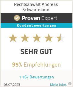 Erfahrungen & Bewertungen zu Rechtsanwalt Andreas Schwartmann