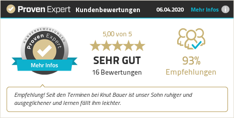 Erfahrungen & Bewertungen zu Knut Bauer anzeigen