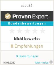 Erfahrungen & Bewertungen zu sebu24