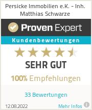 Erfahrungen & Bewertungen zu Persicke Immobilien e.K. - Inh. Matthias Schwarze